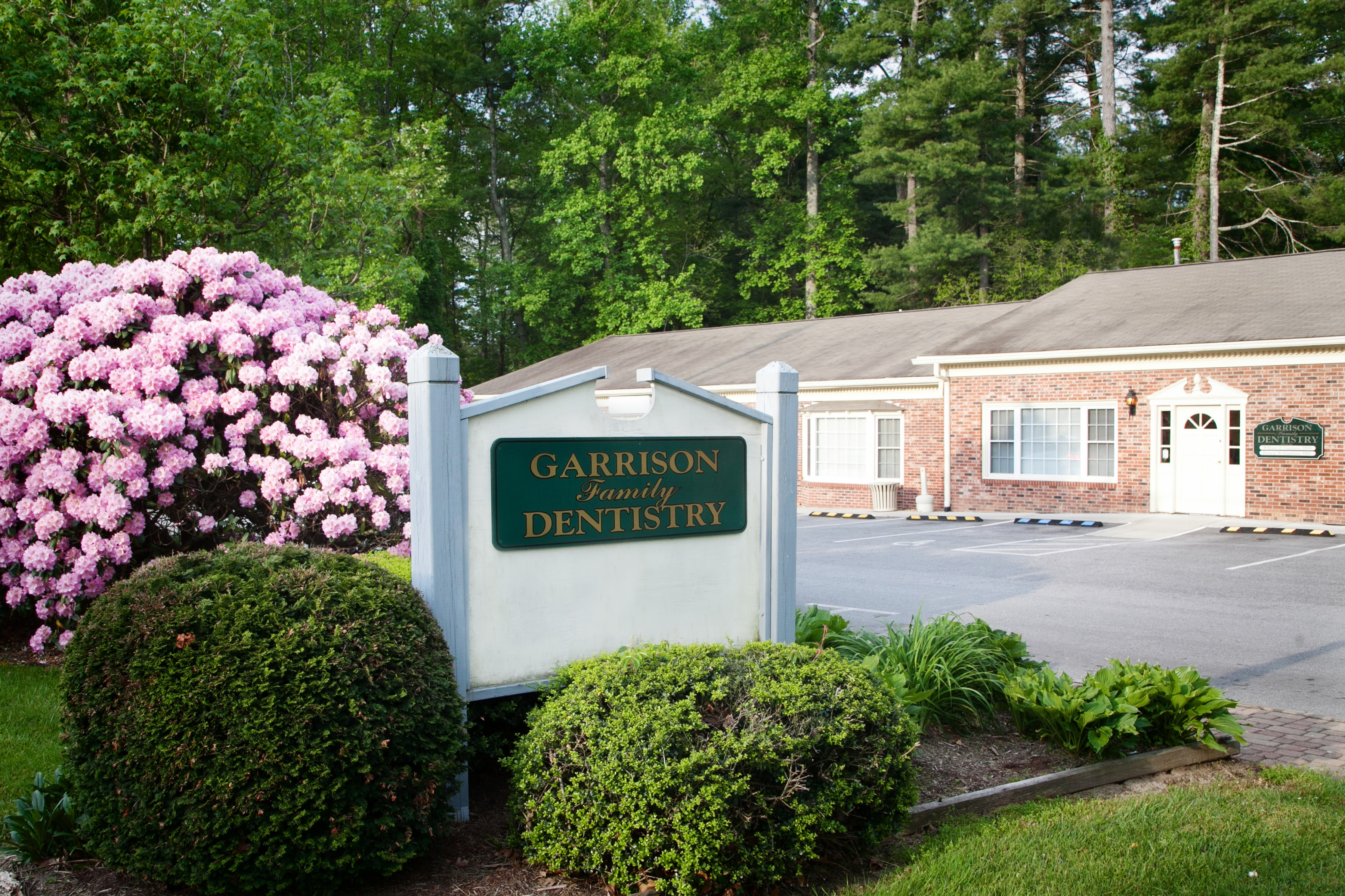 The office of Garrison Family Dentistry